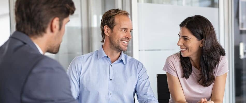 Couple Having Loan Consultation
